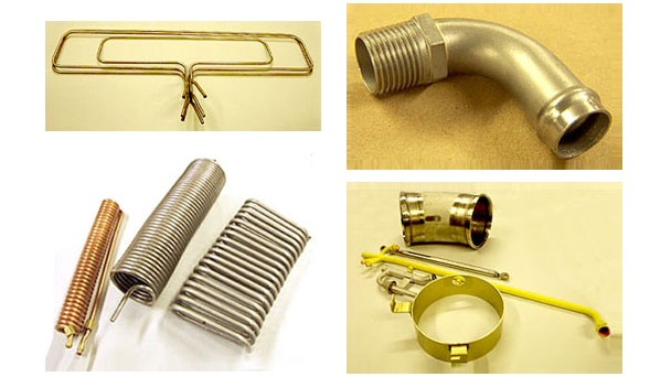 Tube Bending, Coiling, Welding, and Assembly