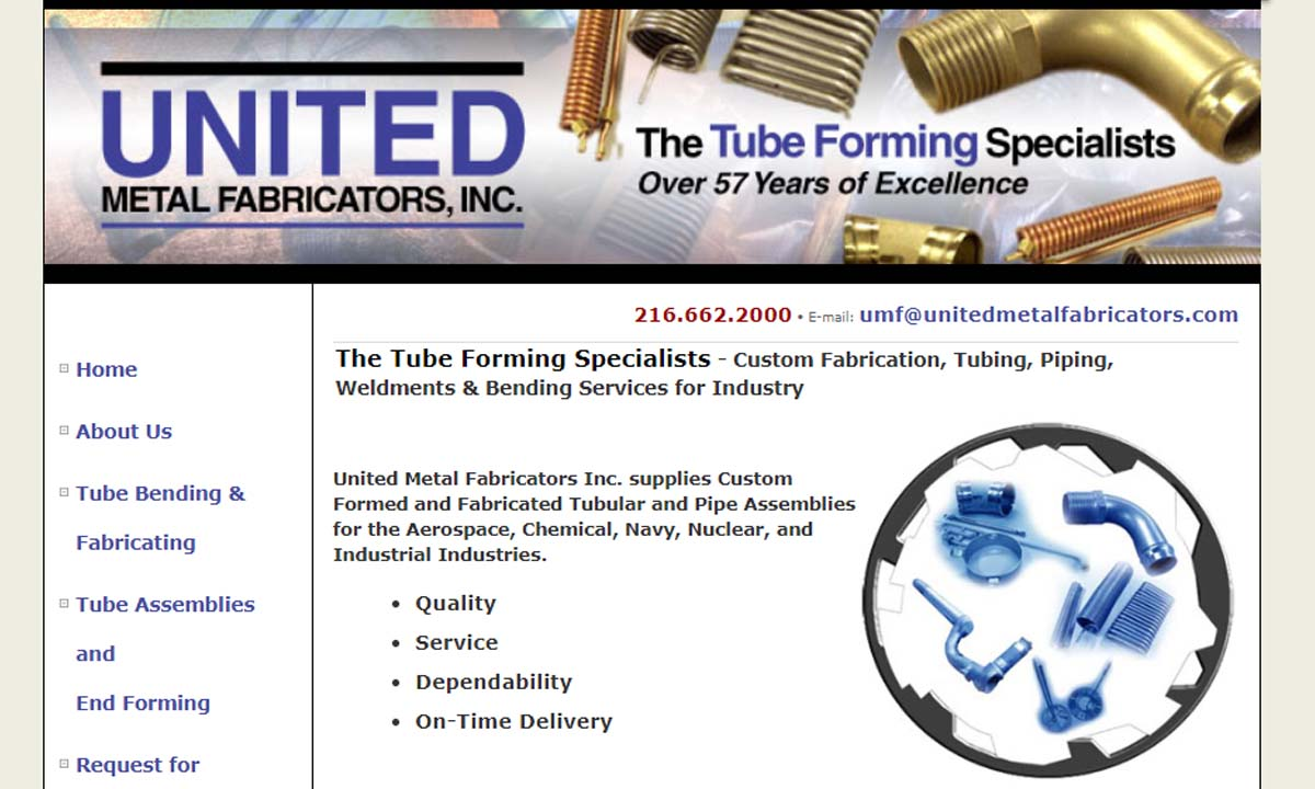 United Metal Fabricators, Inc.