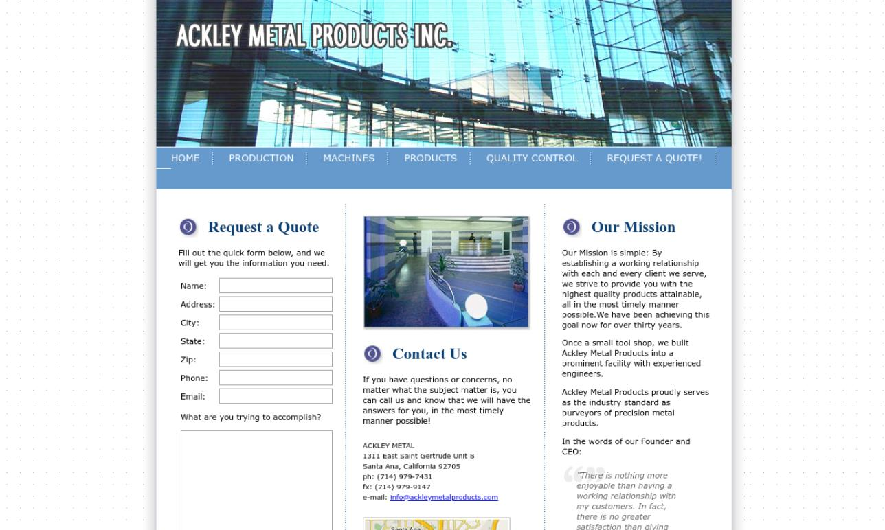 Ackley Metal Products