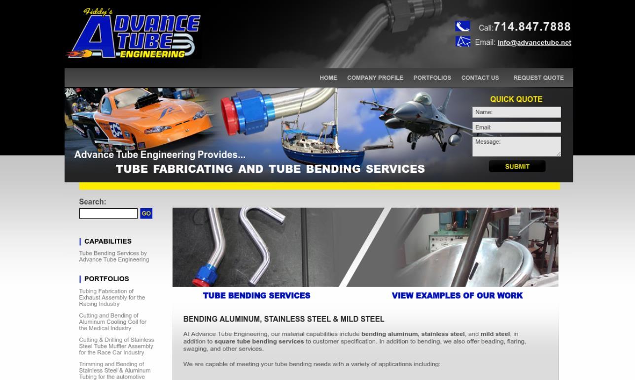More Tube Fabrication Company Listings
