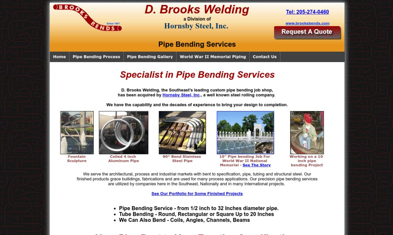 D. Brooks Welding Co.