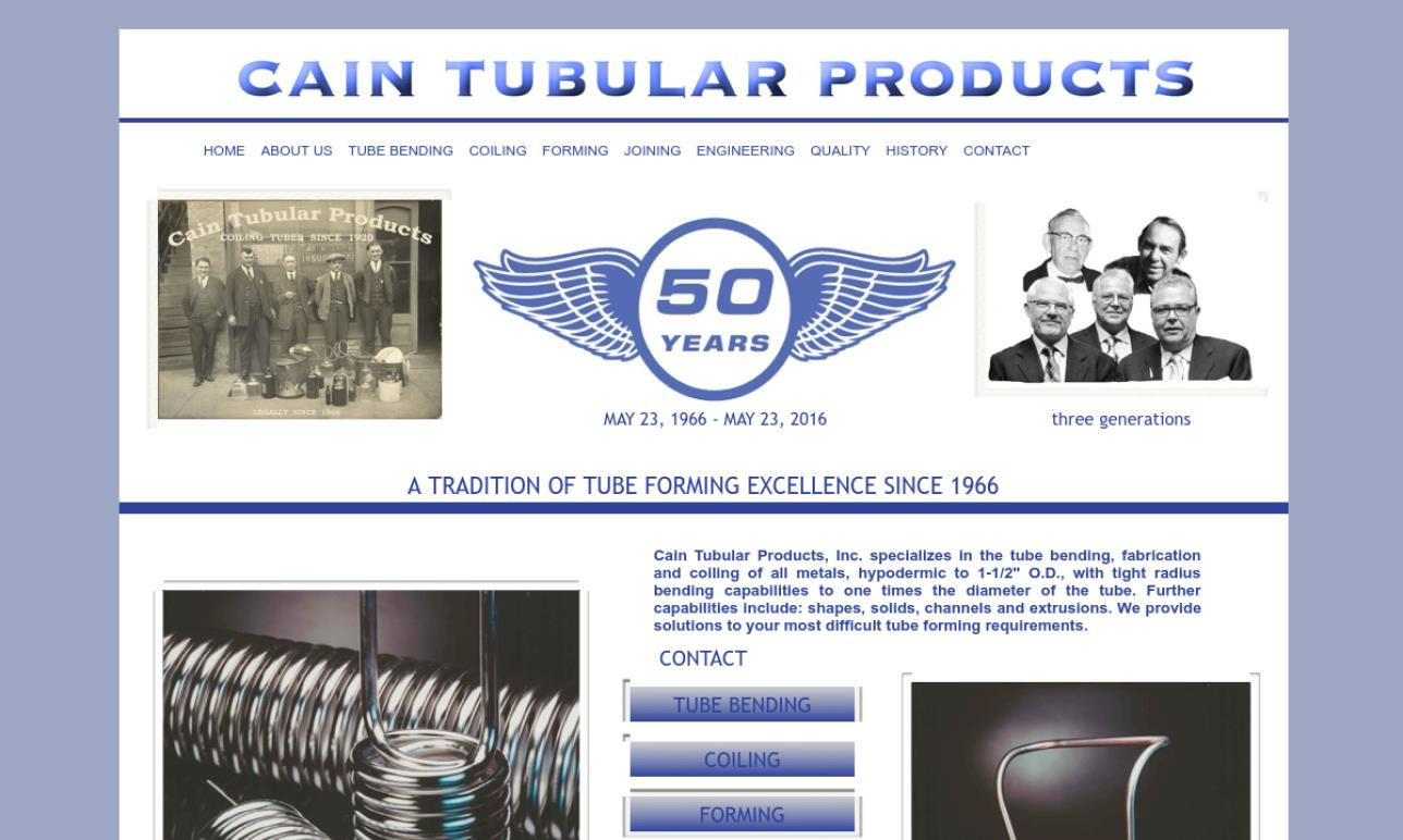 Cain Tubular Products, Inc.