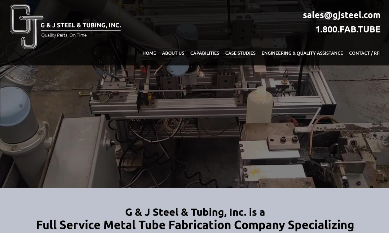 G & J Steel & Tubing, Inc.
