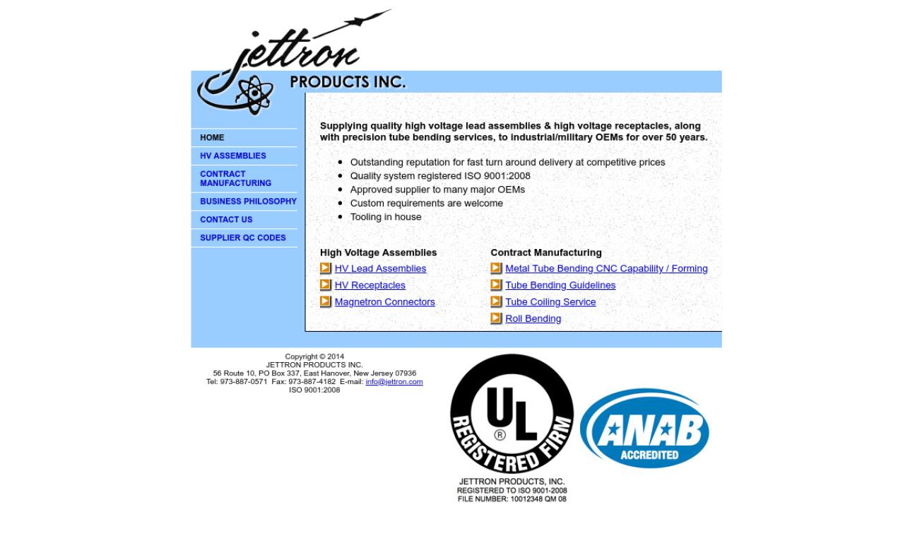 Jettron Products Inc.