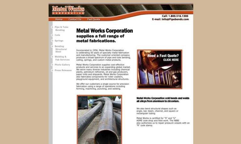 Metal Works Corporation