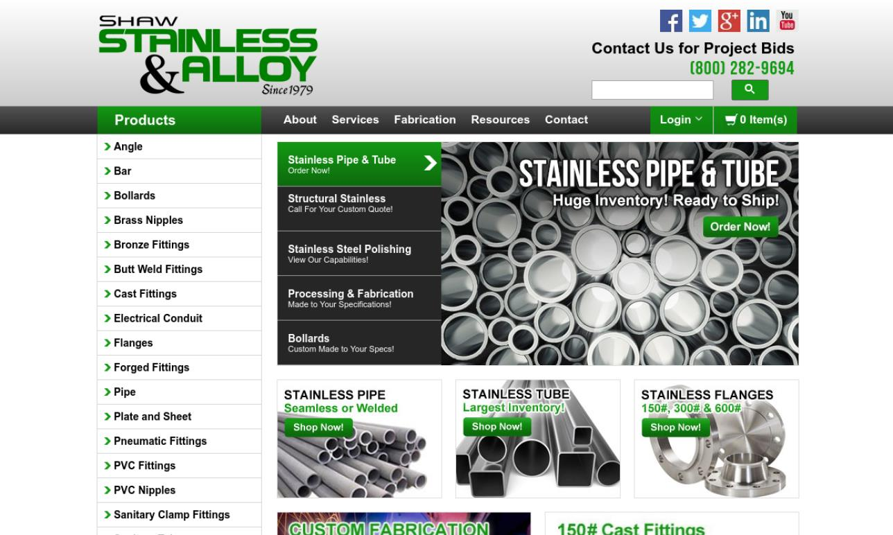 Stainless & Alloy Piping
