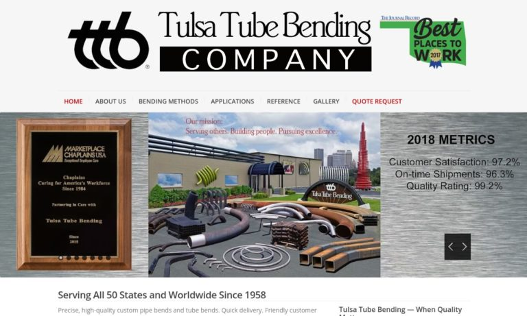 Tulsa Tube Bending