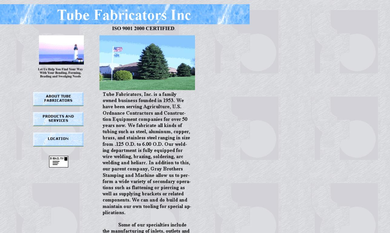 Tube Fabricators, Inc.