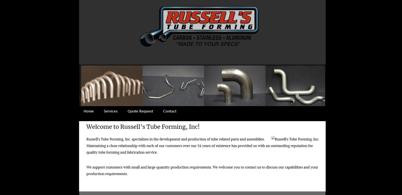 Russell's Tube Forming, Inc.
