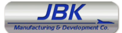 JBK Manufacturing & Development Co. Logo