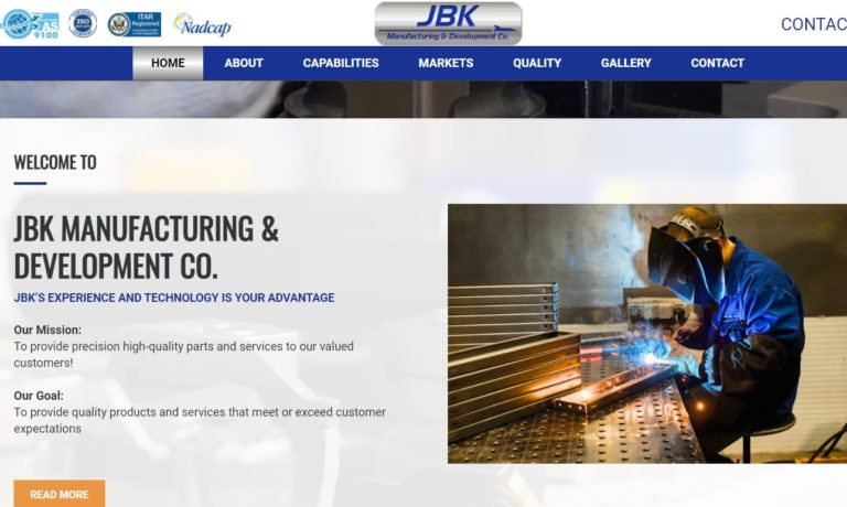 JBK Manufacturing & Development Co.