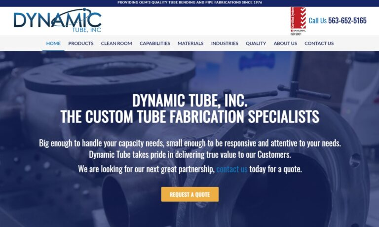 Dynamic Tube, Inc